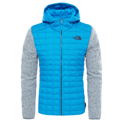 The North Face Thermoball Hybrid Gordon Lyons Kapucnis Dzseki - Kék-Szürke