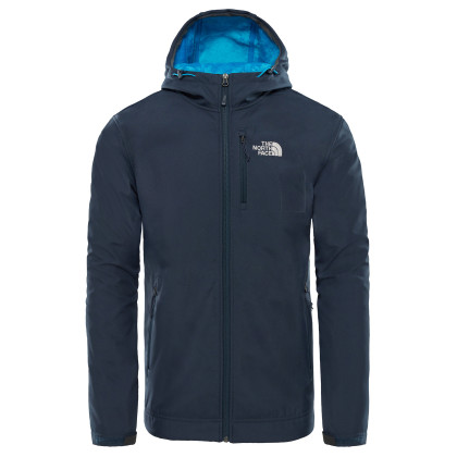 The North Face Durango Hoodie Softshell Dzseki - Kék